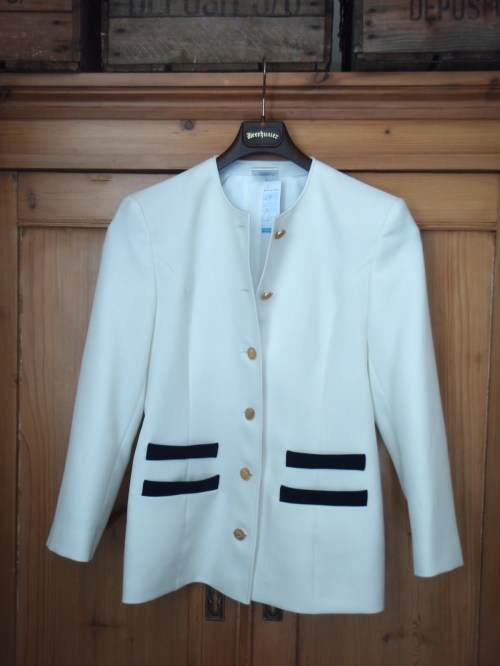 Nautical charity shop jacket
