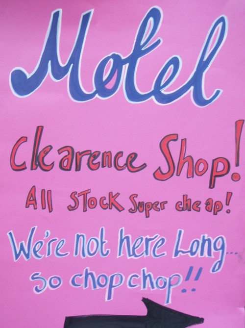 Motel clearance shop
