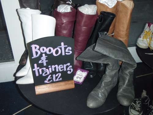 Gorgeous leather boots of bargain bucket prices