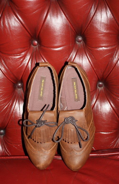 river island brogues