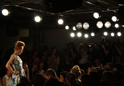 Dorothey-Perkins-retro-dress at the LOOK Show Ss/11