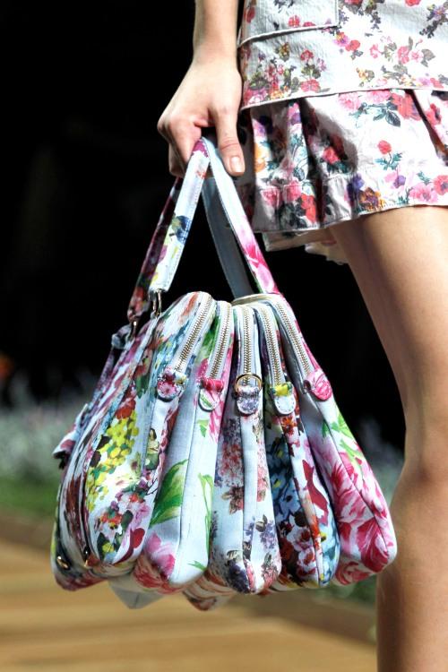 D&G ss11 floral bag