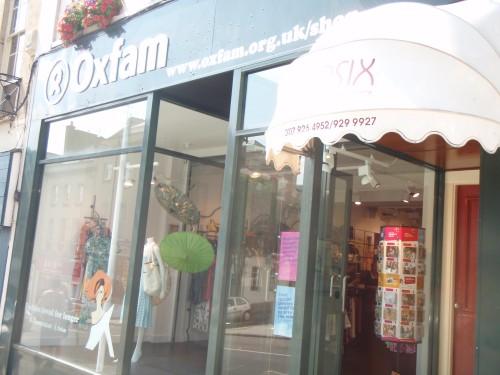 Oxfam Boutique Park Street, Bristol