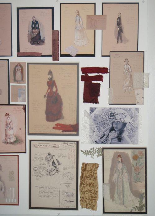 Bath Fashion Museum moodboard
