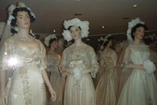 Bath Fashion Museum What Will She Wear? wedding dresses