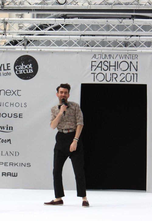 Cabot Circus Fashion Weekender stylist JP