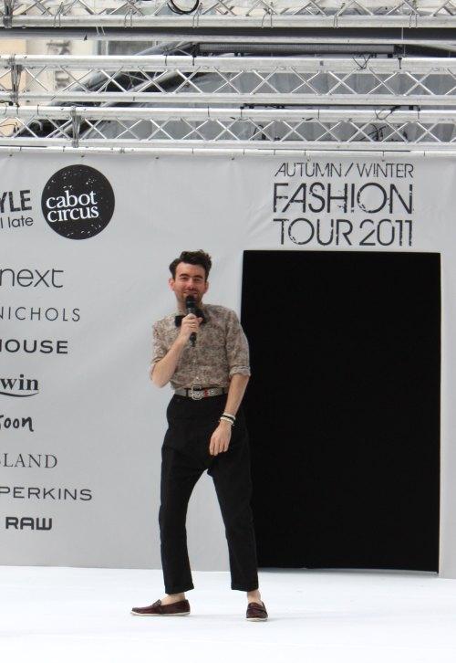 Cabot Circus Fashion Weekender stylist JP