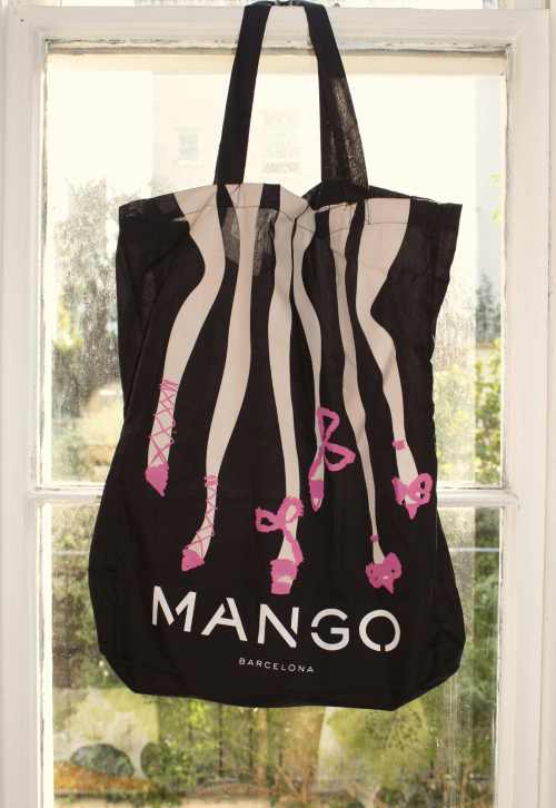 my lovely new Mango tote bag