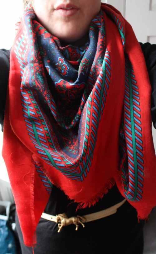 flea market scarf