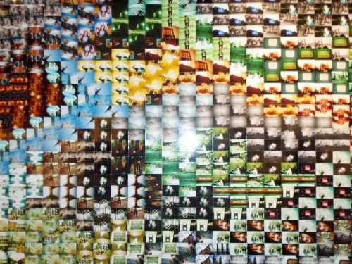 Lomography wall