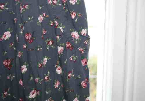 Next floral trousers
