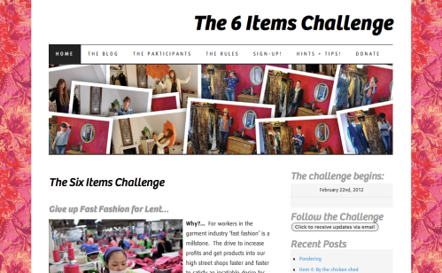 Six Items Challenge