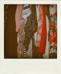 wardrobe contents Polaroid
