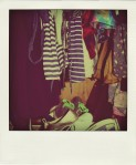 wardrobe stuff Polaroid