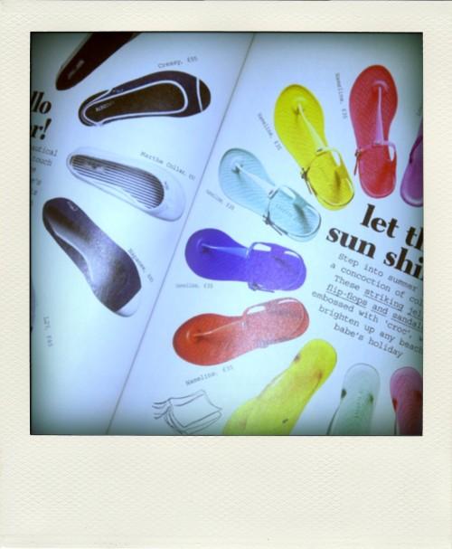 HSE flip flops-pola