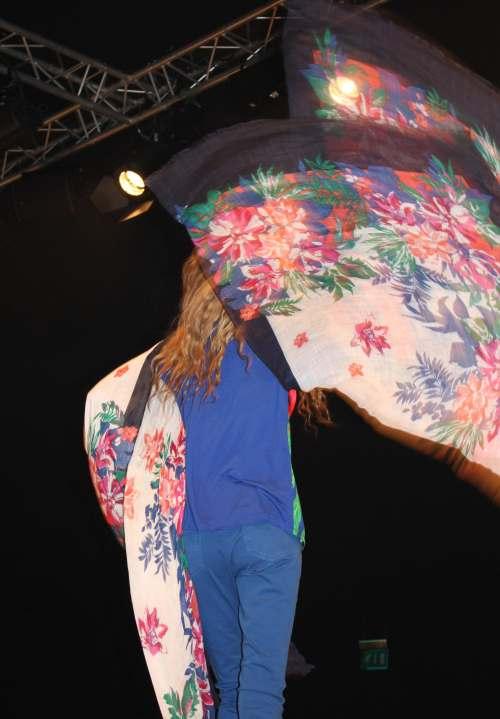 Oasis kimono