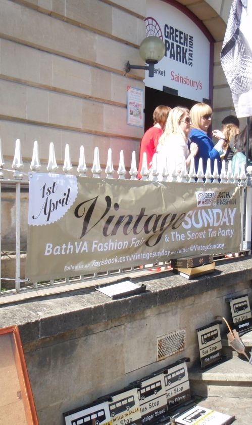 Vintage Sunday at Green Park Station, Bath