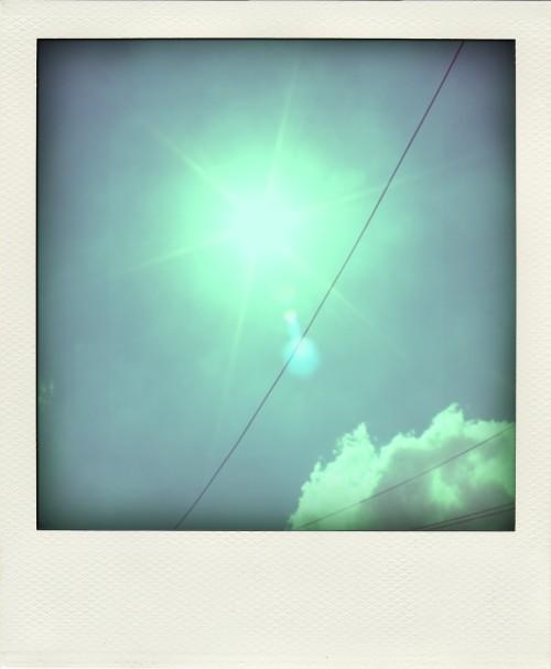 Sunshine and blue skies