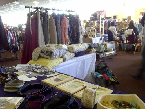 Our stall at Bristol Flea Market