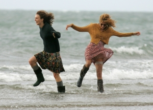 Keira Knightly and Sienna Miller in The Edge of Love