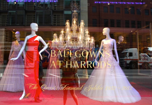 Ballgowns at Harrods
