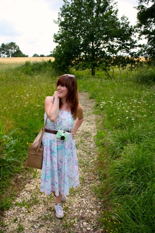Rockit bag and dress