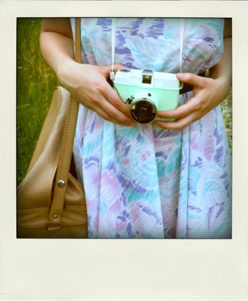 Rockit bag and Diana+ camera