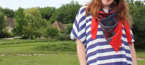 Zara tee goes to France