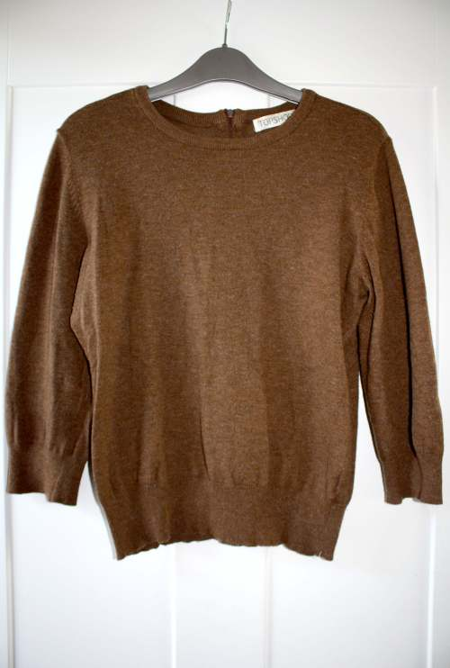 Coffee coloured Topshop jumper