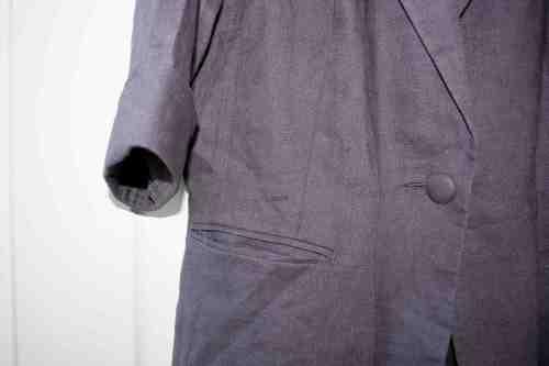 Grey linen Primark jacket