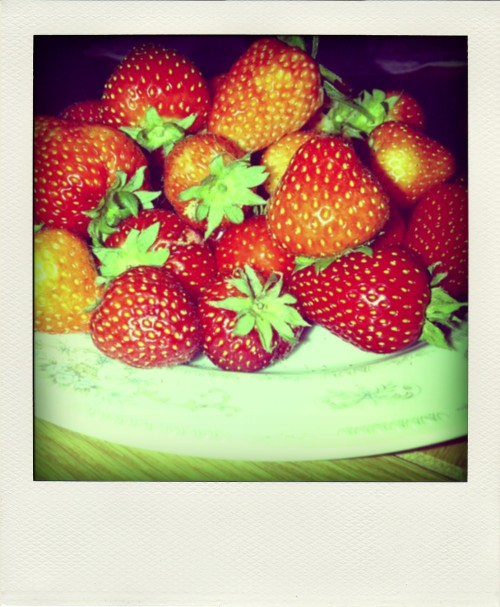Yummy strawberries