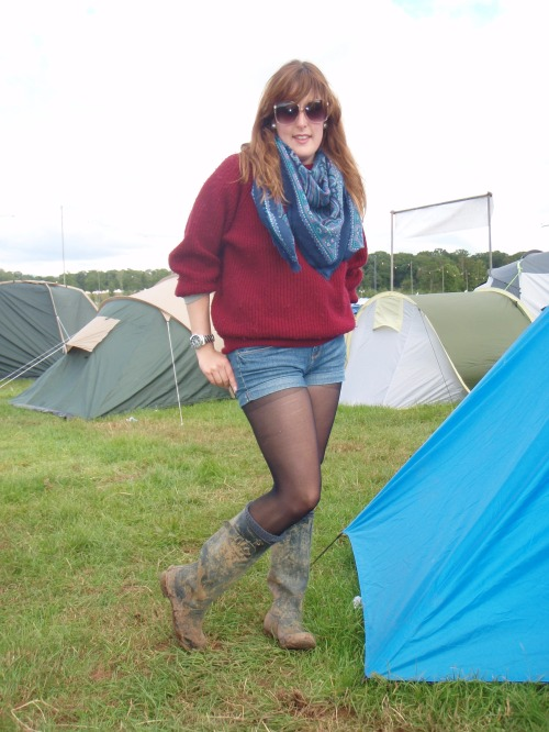 Camping at Kendal Calling