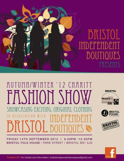 BIB fashion show flyer