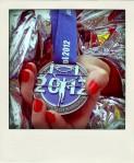 Bristol Half Marathon medal