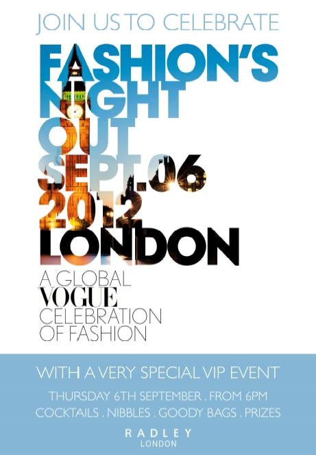 Radley Vogue FNO event