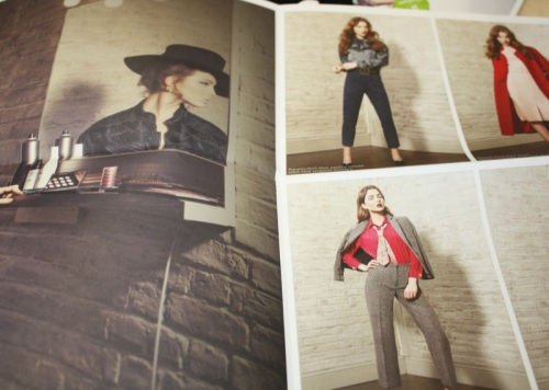 Oxfam Fashion A/W12 lookbook