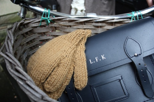 Ship-Shape and Bristol Fashion - mittens and Cambridge Satchel Co.