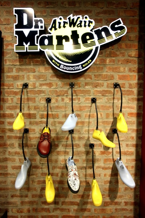 Dr Martens flagship store Bristol | Ship-Shape and Bristol Fashion