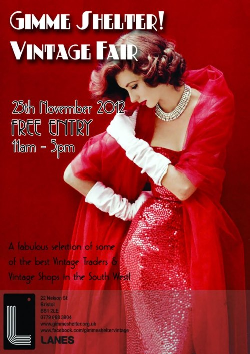 Gimme Shelter Vintage Fair November 2012