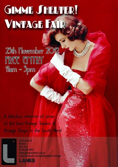 Gimme Shelter Vintage Fair November 2012