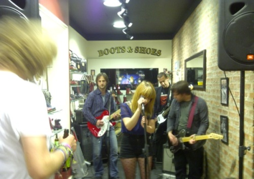 The Fauns secret gig at Dr Martens | Ship-Shape and Bristol Fashion