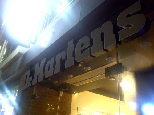 Dr Martens Bristol store | Ship-Shape and Bristol Fashion
