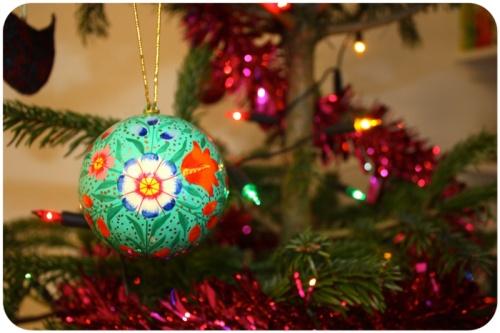 Christmas decoration from Bath Christmas market   Ship-Shape and Bristol Fashion