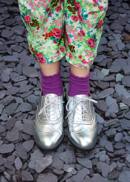 Office silver brogues | Ship-Shape and Bristol Fashion