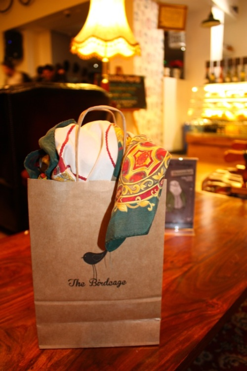 A Birdcage goodie bag | Ship-Shape and Bristol Fashion