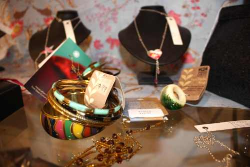Jewellery at Oxfam Boutique Bristol | Ship-Shape and Bristol Fashion