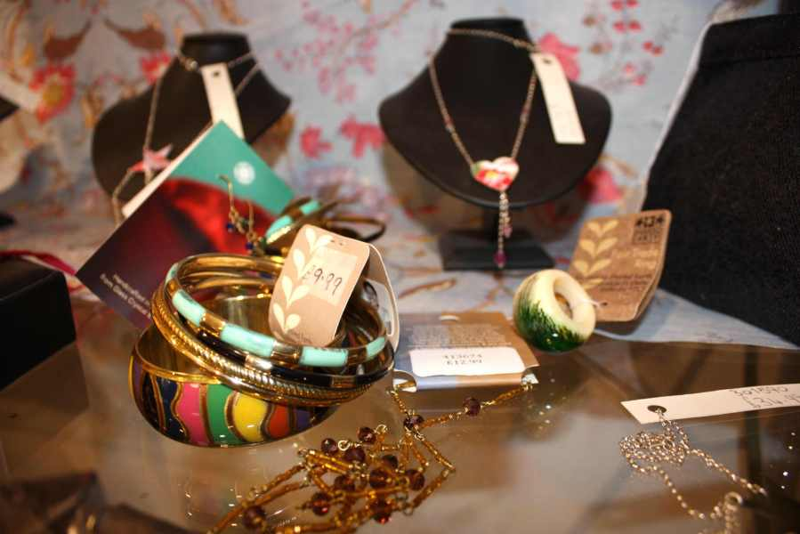 Ship Shape And Fashionable: Jewellery At Oxfam Boutique Bristol