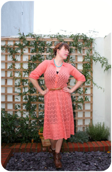 Oxfam knitted dress | Ship-Shape and Bristol Fashion