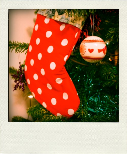 Homemade stocking   Ship-Shape and Bristol Fashion