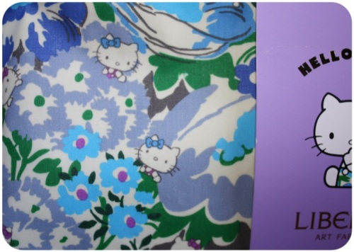 Hello Kitty Liberty print wash bag | Ship-Shape and Bristol Fashion